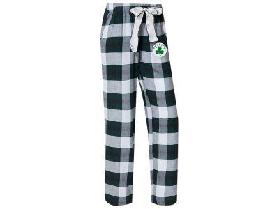 Boston Celtics Concept Sports NBA Women's Headway Flannel Pajama Pant