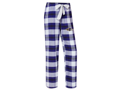 Baltimore Ravens Concept Sports NFL Women's Headway Flannel PJ Pant