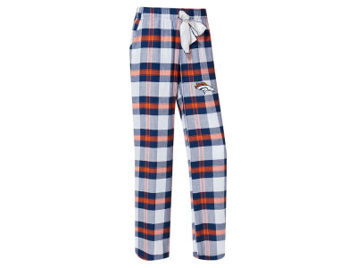 Denver Broncos Concept Sports NFL Women's Headway Flannel PJ Pant