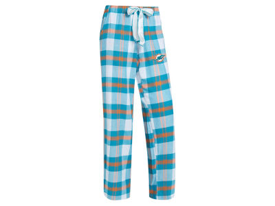 Miami Dolphins Concept Sports NFL Women's Headway Flannel PJ Pant
