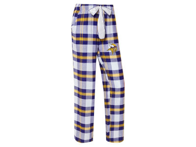 Minnesota Vikings Concept Sports NFL Women's Headway Flannel PJ Pant