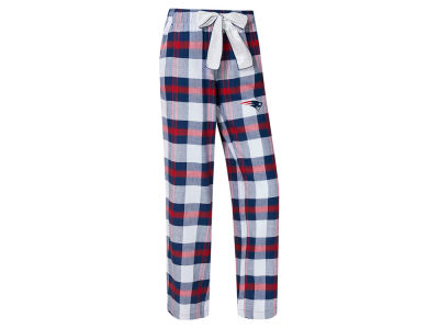 New England Patriots Concept Sports NFL Women's Headway Flannel PJ Pant