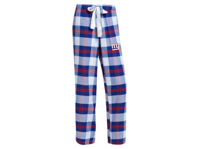 New York Giants Concept Sports NFL Women's Headway Flannel PJ Pant