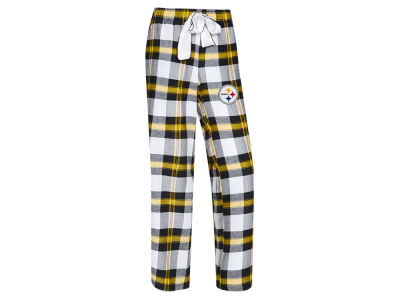 Pittsburgh Steelers Concept Sports NFL Women's Headway Flannel PJ Pant