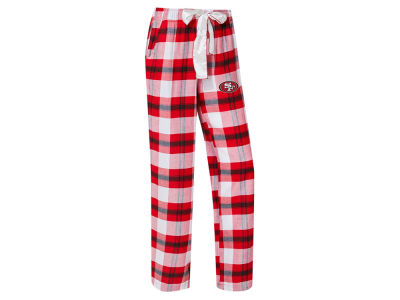 San Francisco 49ers Concept Sports NFL Women's Headway Flannel PJ Pant