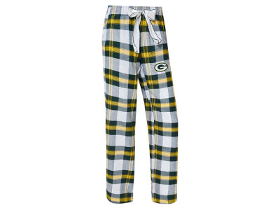 Green Bay Packers Concept Sports NFL Women's Headway Flannel PJ Pant