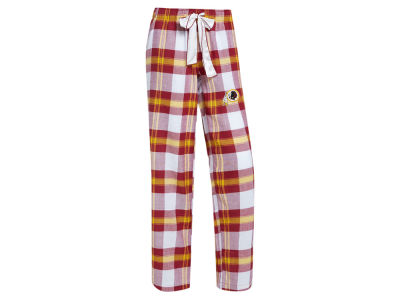 Washington Redskins Concept Sports NFL Women's Headway Flannel PJ Pant