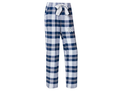 New York Yankees Concept Sports MLB Women's Headway Flannel Pajama Pant