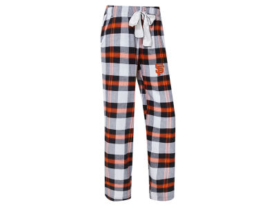 San Francisco Giants Concept Sports MLB Women's Headway Flannel Pajama Pant