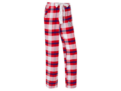 St. Louis Cardinals Concept Sports MLB Women's Headway Flannel Pajama Pant