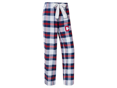 Cleveland Indians Concept Sports MLB Women's Headway Flannel Pajama Pant