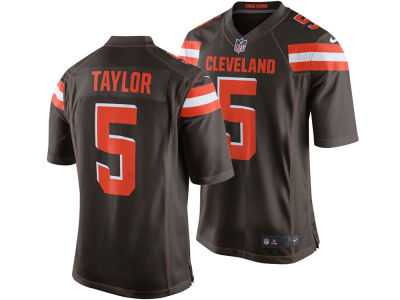 Cleveland Browns Tyrod Taylor Nike NFL Men's Game Jersey