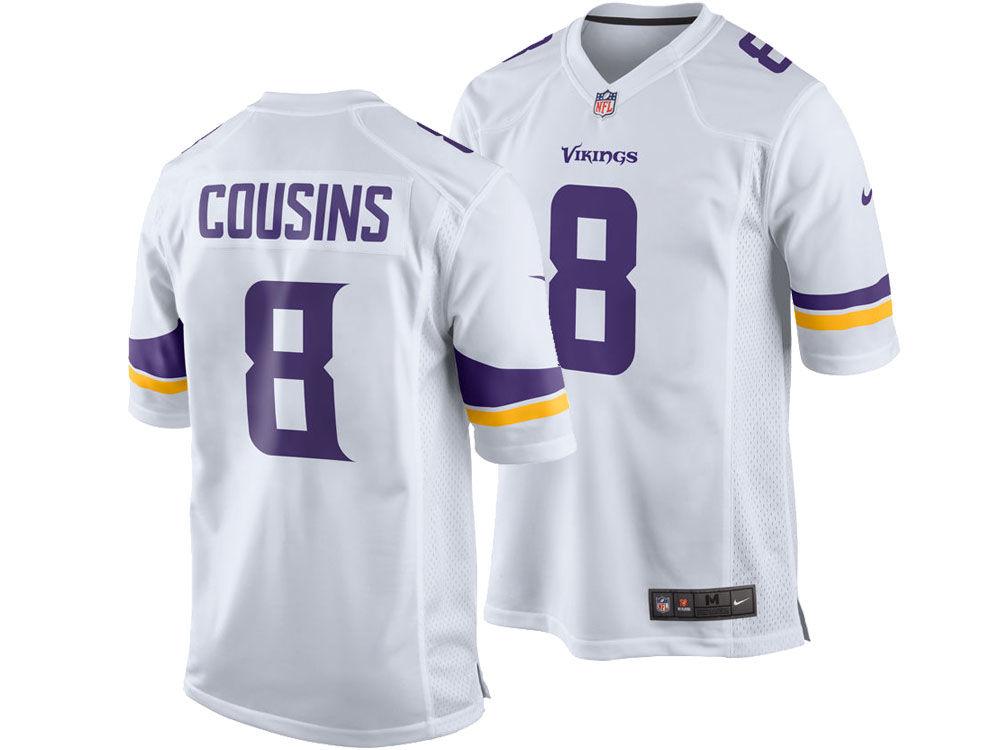 f43a059e0 Minnesota Vikings Kirk Cousins Nike NFL Men s Game Jersey