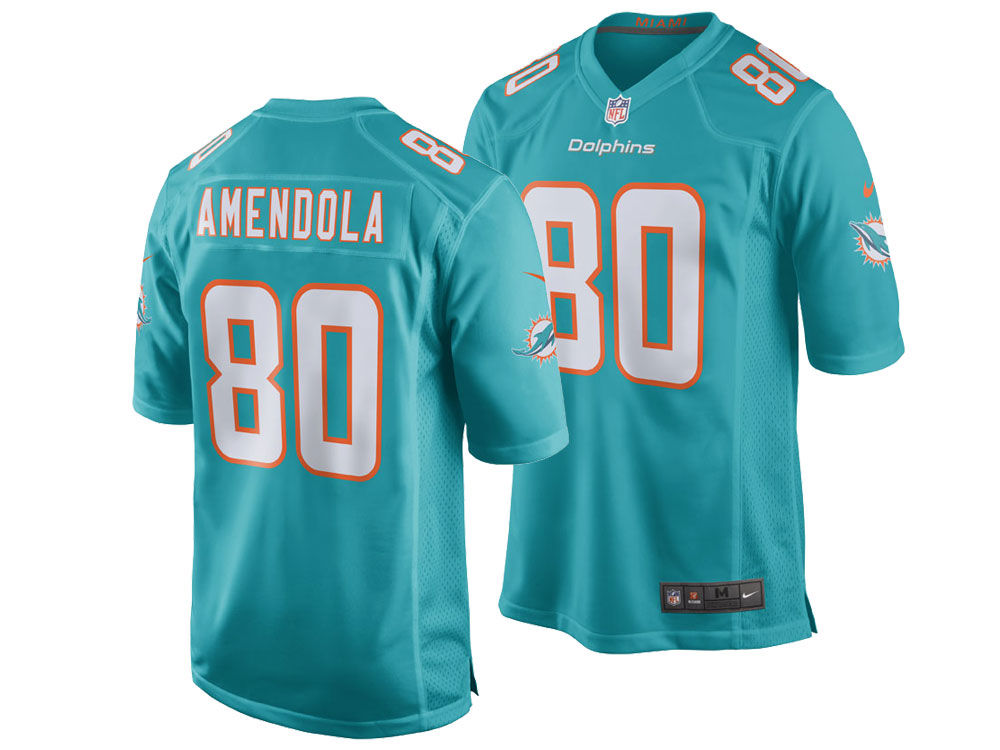 Miami Dolphins Danny Amendola Nike NFL Men s Game Jersey  27dc137a1