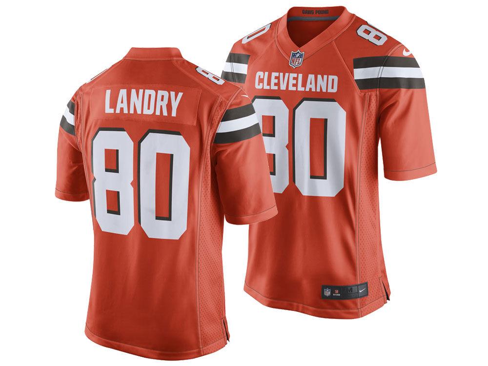 Cleveland Browns Jarvis Landry Nike NFL Men s Game Jersey  7d1f6bb09