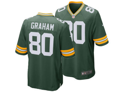 Green Bay Packers Jimmy Graham Nike NFL Men's Game Jersey
