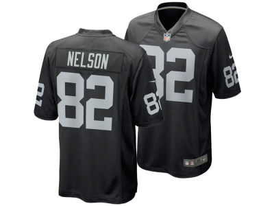 Oakland Raiders Jordy Nelson Nike NFL Men's Game Jersey