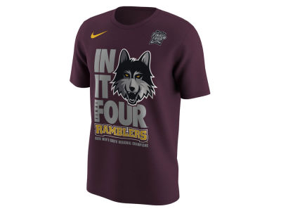 Loyola Ramblers Nike 2018 NCAA Men's Final 4 Bound Locker Room T-Shirt