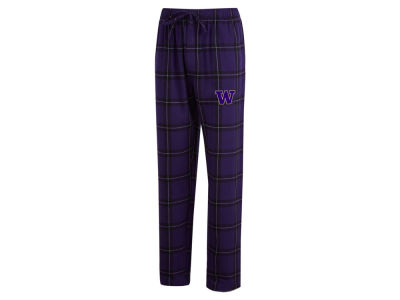 Washington Huskies Concept Sports NCAA Men's Homestretch Flannel Pajama Pant