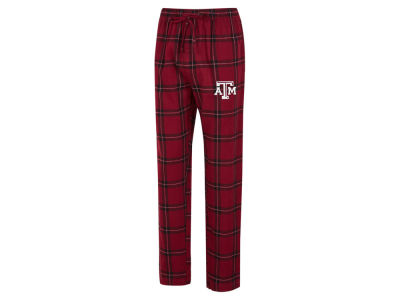 Texas A&M Aggies Concept Sports NCAA Men's Homestretch Flannel Pajama Pant