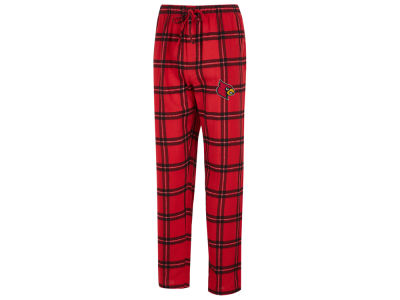 Louisville Cardinals Concept Sports NCAA Men's Homestretch Flannel Pajama Pant