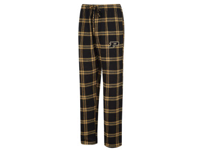 Purdue Boilermakers Concept Sports NCAA Men's Homestretch Flannel Pajama Pant