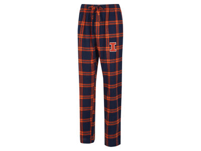 Illinois Fighting Illini Concept Sports NCAA Men's Homestretch Flannel Pajama Pant