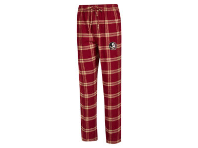 Florida State Seminoles Concept Sports NCAA Men's Homestretch Flannel Pajama Pant