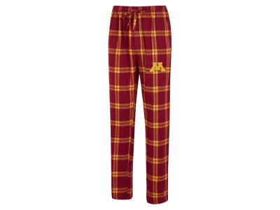 Minnesota Golden Gophers Concept Sports NCAA Men's Homestretch Flannel Pajama Pant
