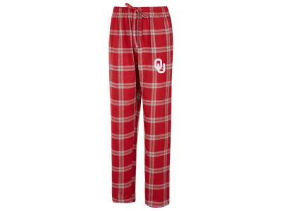 Oklahoma Sooners Concept Sports NCAA Men's Homestretch Flannel Pajama Pant