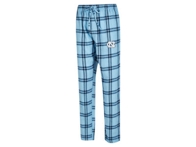 North Carolina Tar Heels Concept Sports NCAA Men's Homestretch Flannel Pajama Pant