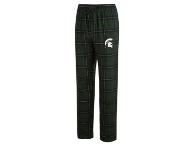 Michigan State Spartans Concept Sports NCAA Men's Homestretch Flannel Pajama Pant