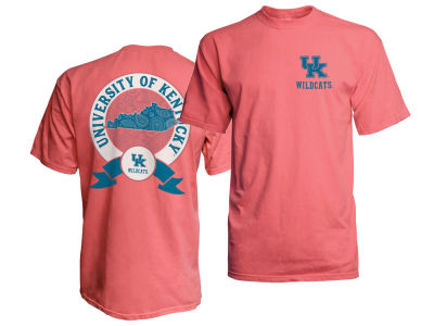Kentucky Wildcats Top of the World NCAA Women's Paisley State Comfort Color T-Shirt