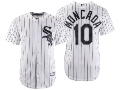 Chicago White Sox Yoan Moncada Majestic MLB Men's Player Replica Cool Base Jersey