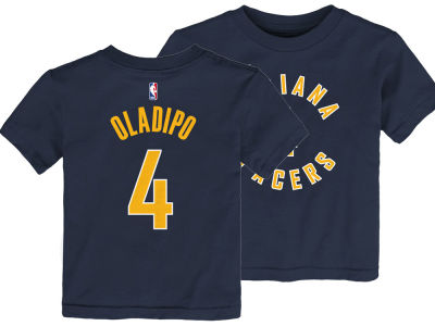 Indiana Pacers Victor Oladipo Nike NBA Kids Replica Name and Number T-Shirt