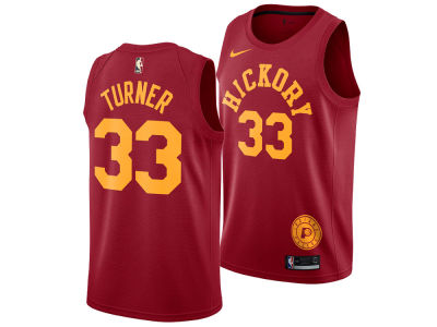 Indiana Pacers Myles Turner Nike 2018 NBA Men s Hardwood Classic Swingman  Jersey 183cc1714