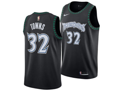 Minnesota Timberwolves Karl-Anthony Towns Nike 2018 NBA Men's Hardwood Classic Swingman Jersey