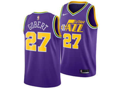Utah Jazz Rudy Gobert Nike 2018 NBA Men's Hardwood Classic Swingman Jersey