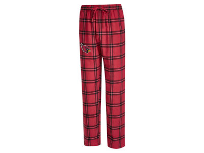 Arizona Cardinals Concept Sports NFL Men's Homestretch Flannel Sleep Pant