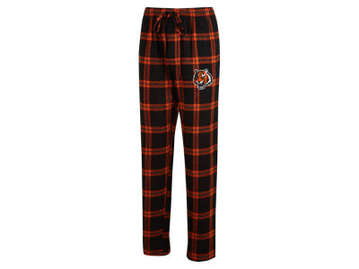 Cincinnati Bengals Concept Sports NFL Men's Homestretch Flannel Sleep Pant