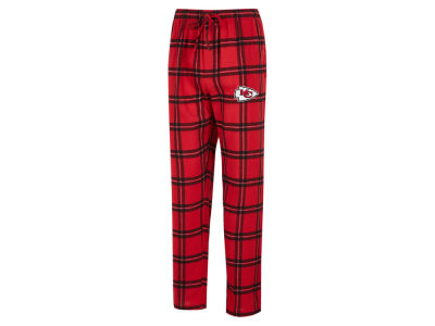 Kansas City Chiefs Concept Sports NFL Men's Homestretch Flannel Sleep Pant