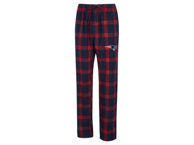 New England Patriots Concept Sports NFL Men's Homestretch Flannel Sleep Pant