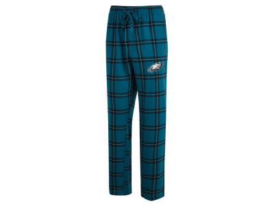 Philadelphia Eagles Concept Sports NFL Men's Homestretch Flannel Sleep Pant