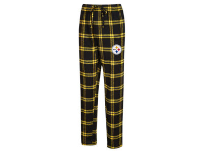 Pittsburgh Steelers Concept Sports NFL Men's Homestretch Flannel Sleep Pant