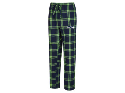 Seattle Seahawks Concept Sports NFL Men's Homestretch Flannel Sleep Pant