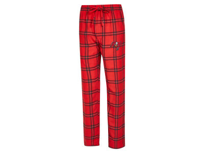 Tampa Bay Buccaneers Concept Sports NFL Men's Homestretch Flannel Sleep Pant