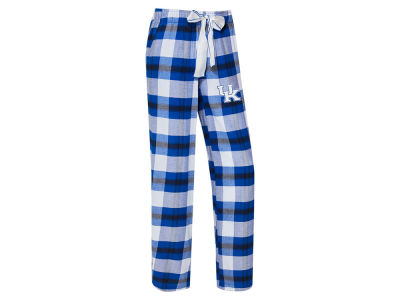 Kentucky Wildcats Concept Sports NCAA Women's Homestretch Flannel Pajama Pant