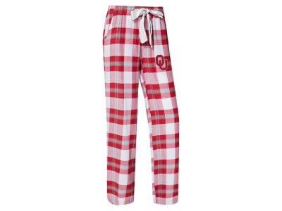 Oklahoma Sooners Concept Sports NCAA Women's Homestretch Flannel Pajama Pant