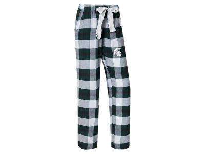 Michigan State Spartans Concept Sports NCAA Women's Homestretch Flannel Pajama Pant