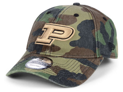 Purdue Boilermakers New Era NCAA Woodland Classic Twill 9TWENTY Cap